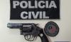 DELEGACIA DE HOMICÍDIOS DE FOZ APREENDE ARMA UTILIZADA EM HOMICÍDIO