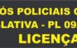 Protesto contra proposta legislativa PL 09/19 que põe fim à licença prêmio