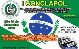 Congresso das classes policiais civis do estado do Paraná - SINCLAPOL