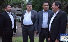 Prefeitura e Ministério da Economia vistoriam áreas da união que serão repassadas para Foz