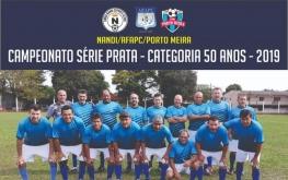 Time do NANDI/AFAPC/PORTO MEIRA - Categorias 50 e 55 anos - seguem firme no campeonato Série Prata da AREVEFI.