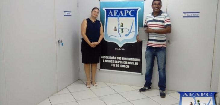 VISITA DA ALICE (Servidora da ITAIPU BINACIONA)