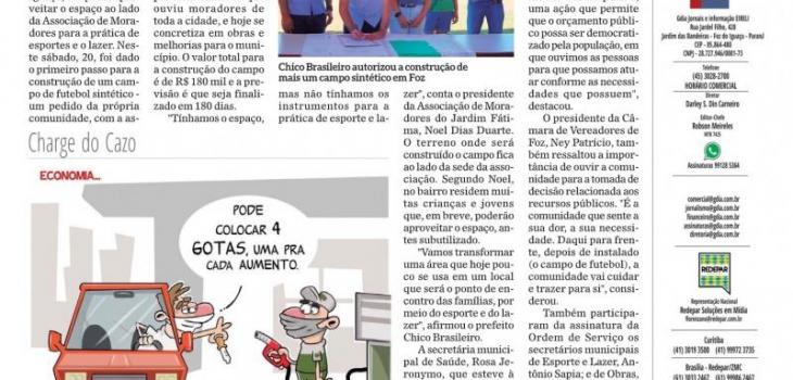 ASSOCIAÇÃO DO BAIRRO JARDIM DONA FÁTIMA EM FÓZ DO IGUAÇU